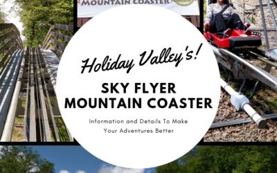 Holiday Valley Resort's Sky High Mountain Coaster